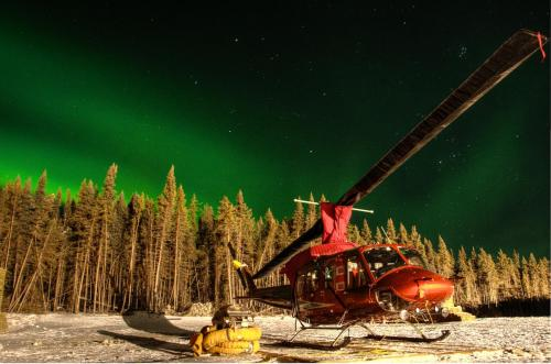 Airspan- Heli and Northern Lights
