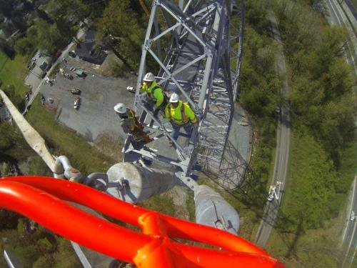 Airspan- Go Pro High Voltage Work